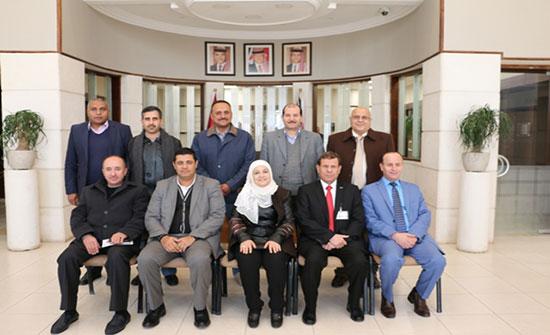 الشرق الأوسط و بلدية مادبا ثبحثان  تنفيذ مشروع ريادي مشترك