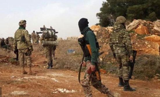هجوم بري للجيشين التركي والسوري الحر باتجاه عفرين