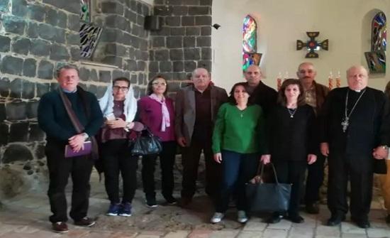 عودة بعثة الامن العام للحج المسيحي الى القدس