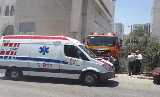 بالفيديو : 6 إصابات في حادث سير بماركا