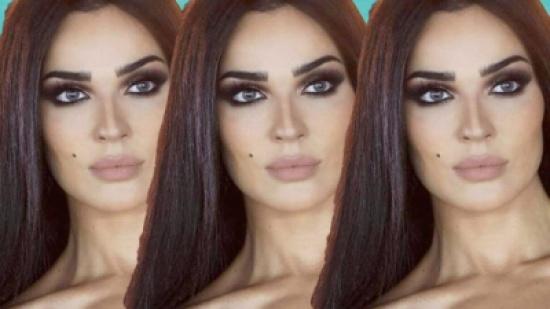 نادين نسيب نجيم ولون شعر جديد – بالصور