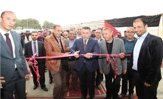 النعيمات يفتتح الصالة الرياضية لنادي موظفي أمانة عمان