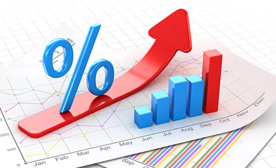 0.4% ارتفاع معدل التضخم لشهر نيسان