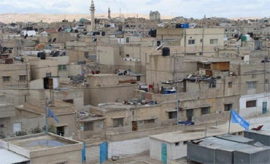 اطلاق مشروع اعادة تأهيل المساكن في مخيم حطين