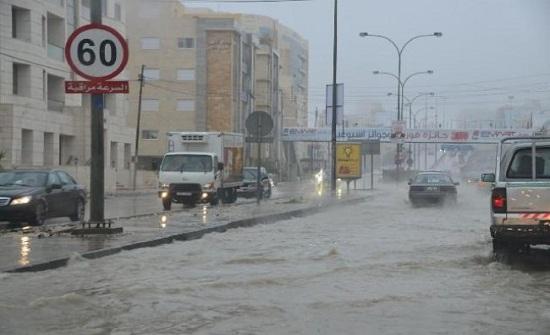 الإثنين : توقعات بهطل زخات مطرية