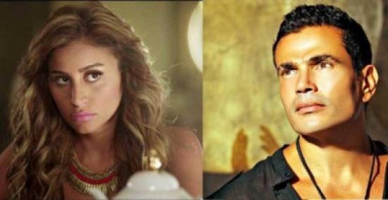 عمرو دياب تزوج دينا الشربيني رسمياً!