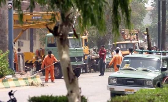 قتلى وجرحى بتفجير مقر شرطة جنوبي إيران