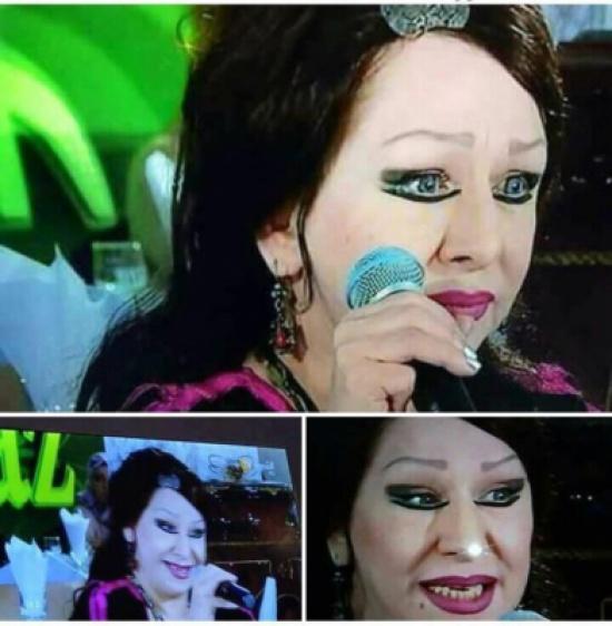 مغنية جزائرية تخيف المشاهدين وتبدو مصاصة دماء – بالصور