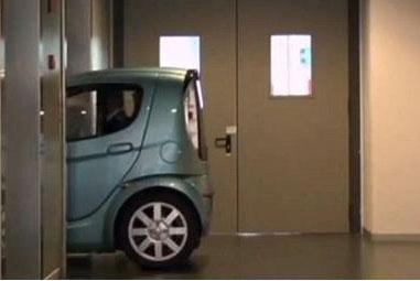 أصغر سيارة.. توصلك إلى سريرك