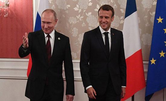 الكرملين يؤكد تحضير زيارة بوتين لفرنسا في أغسطس المقبل