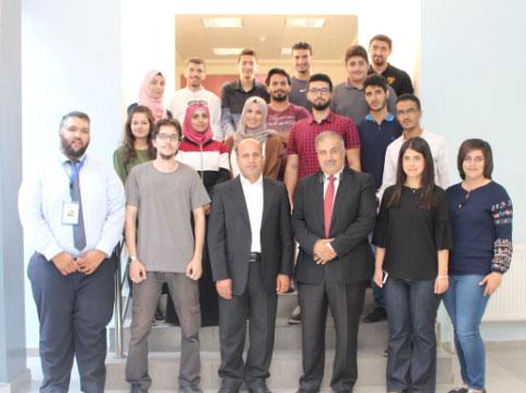 حفل تخريج المشاركين في دورة الاختراق الاخلاقي في جامعة الاميرة سمية للتكنولوجيا