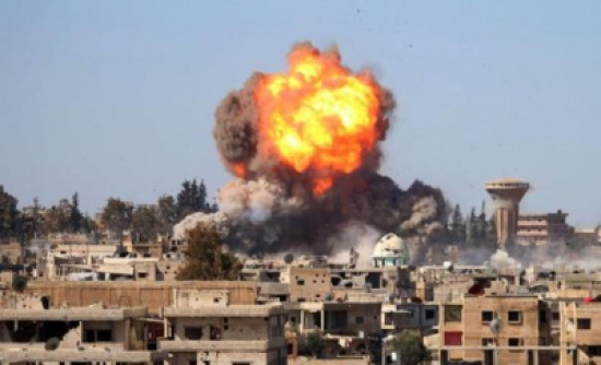 سقوط قذيفة سورية على الرمثا