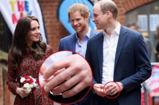 لماذا لا يرتدي الأمير ويليام خاتم الزواج... اليكم السبب الحقيقي والغريب!