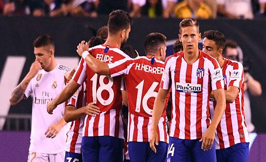 (فيديو) : أتلتيكو مدريد يكتسح ريال بسباعية في مباراة قوية