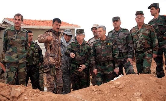 زوجة ضابط سوري تقتله وتقطع جثته وتحرقها وتضعها في أكياس