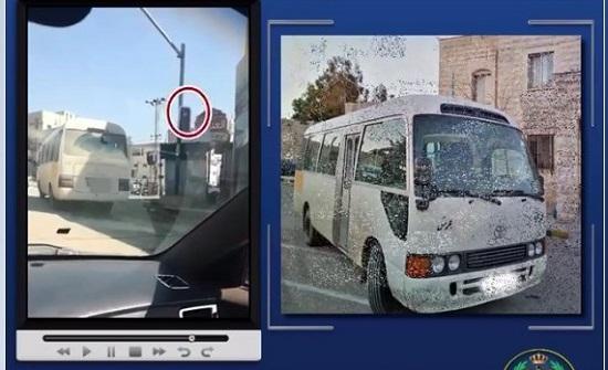 بالفيديو : ضبط سائقين ارتكبا مخالفات خطرة اثناء القيادة