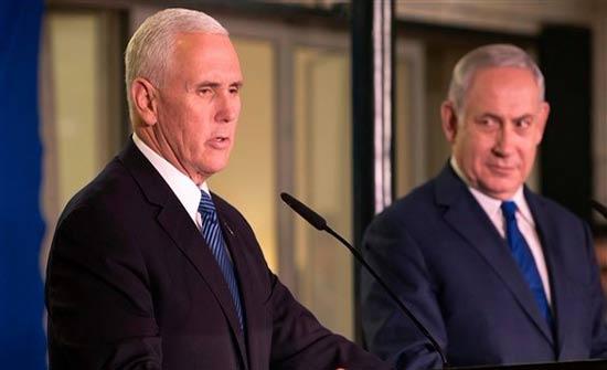 بنس: الجدول الزمني لخطة أمريكية للسلام يعتمد على الفلسطينيين