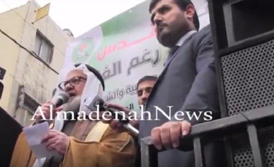 بالفيديو : كلمة الدكتور همام سعيد خلال مسيرة وسط البلد