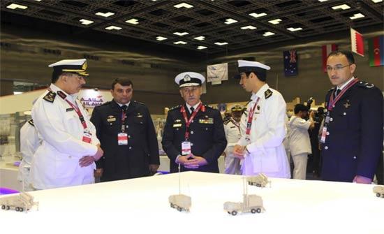 افتتاح معرض ومؤتمر الدوحة الدولي السادس للدفاع البحري