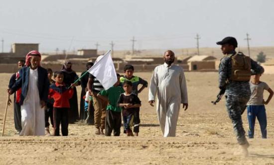 إلقاء منشورات على مناطق في العراق بينها الموصل للانتفاضة ضد تنظيم الدولة