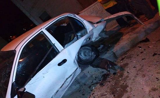 وفاة شخص  وإصابة أربعة آخرين اثر حادث تصادم في عمان
