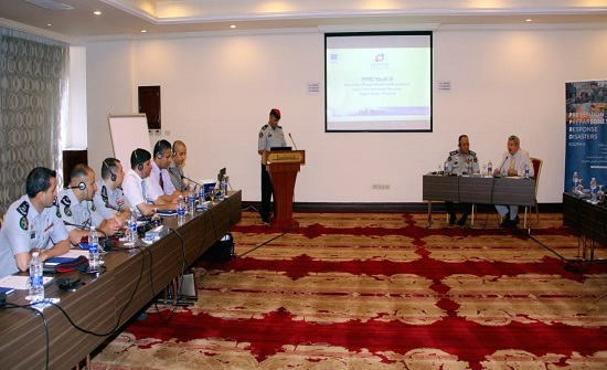 الدفاع المدني ينظم ورشة عمل في مجال الإعلام