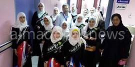 حافظات القرآن يوزعن الهدايا على الأطفال في مستشفى الرمثا ( صور )