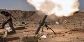 مقتل 3 عراقيين واصابة 9 بقذائف صاروخية غرب بغداد