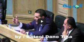 بالفيديو : طوقان يرد على استجواب الخرابشة حول المفاعل النووي