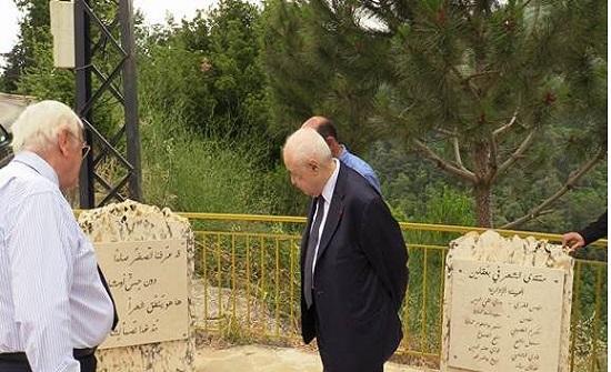 تسجيل شجرة أرز رسمياً باسم الدكتور طلال أبوغزاله في لبنان