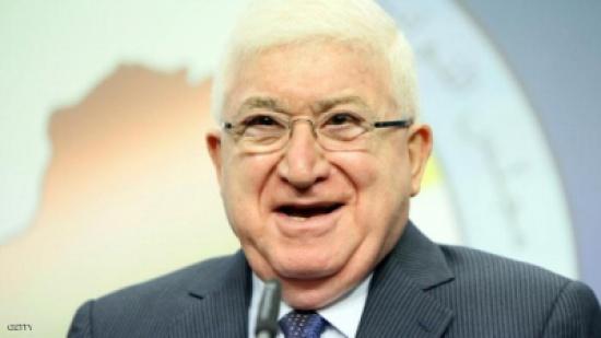 الرئيس العراقي يلتقي رجال الاعمال الاردنيين والعراقيين