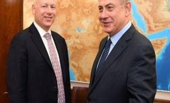 بتصريحات (غرينبلات).. واشنطن تُعطي إسرائيل الضوء الأخضر لعمل عسكري ضد غزة
