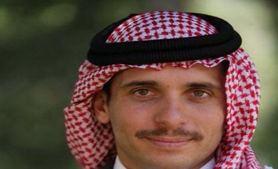 الأمير حمزة : القدس مفتاح السلام العادل