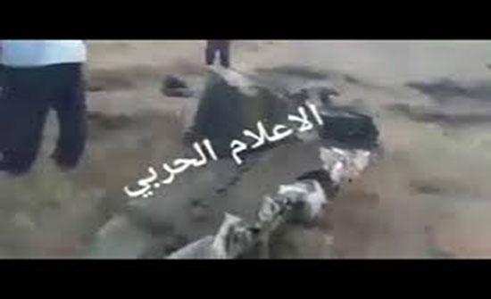 """بالفيديو : """"الجيش الليبي"""" يسقط طائرة تابعة لحكومة الوفاق في ترهونة"""