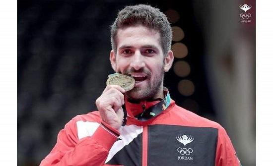 اللاعب قطان يضمن ميدالية ببطولة العالم للتايكواندو