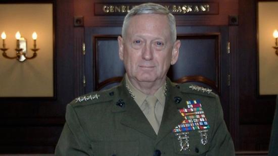 """ترامب يختار الجنرال """"جيمس ماتيس"""" وزيرا للدفاع"""