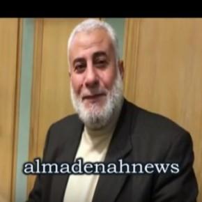 """بالفيديو : شاهد النائب أبراهيم ابو السيد يتحدث عن ابنه """" عامل النظافة """""""