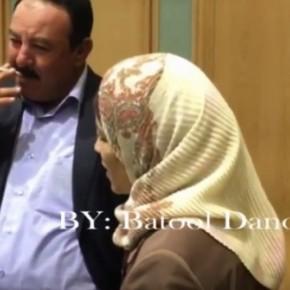 فيديو : خالد الحياري لفضية أبو قدورة : صحتك مروتك .. دافي .. عندكو  برد ؟