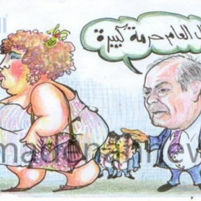 أبرز أحداث الأردن  بالكاريكاتير (2)