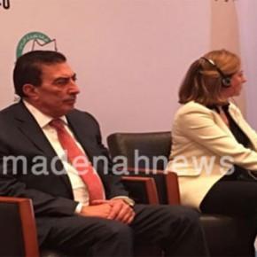 بالصور والفيديو  : الطراونة يفتتح في البحر الميت  مؤتمر البطالة في الاردن .. أسبابها وكيفية الحد منها