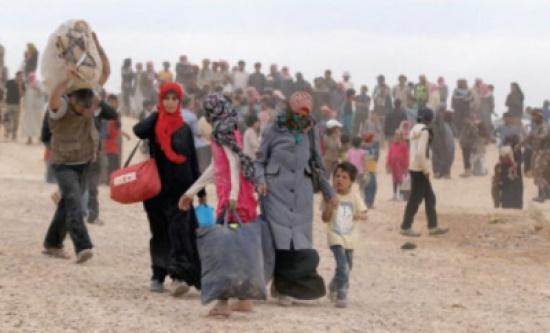 تقرير حقوقي: أكثر من نصف الشعب السوري نازحون والوضع يزداد تدهورا