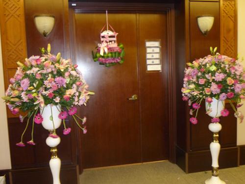 مجموعة افكار لتزيين باب غرفه الولادةاستقبال مولودها الجديد
