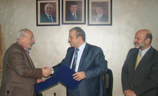 اتفاقية لتعزيز التعاون بين الوطني الزراعي وجمعية مكافحة التصحر