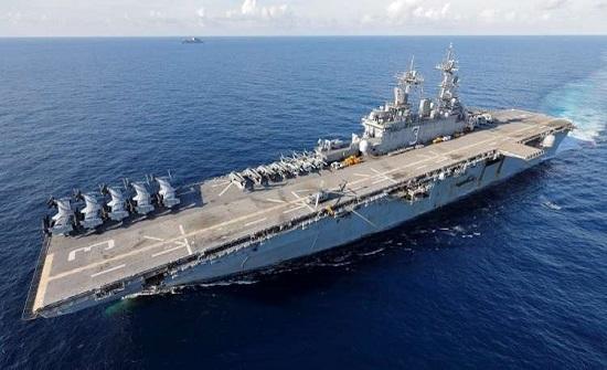 سفن حربية أمريكية وقوات من المارينز باتجاه سوريا للمساعدة في سحب القوات