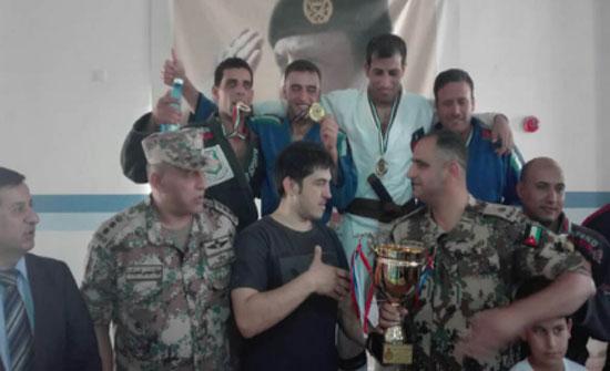 الشرقية بطلا لبطولة القوات المسلحة للجيوجتسو