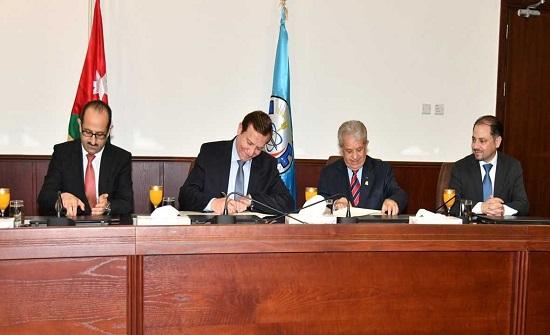 اتفاقية تعاون طبي بين اليرموك والعلوم والتكنولوجيا