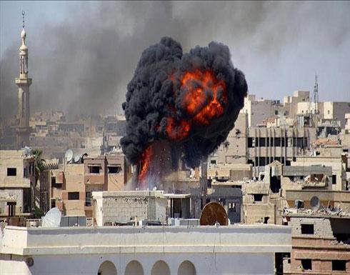 """5 قتلى في غارات روسية بـ""""النابالم"""" على مناطق """"خفض توتر"""" في إدلب"""