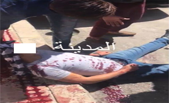بالصور:طالب ثانوي يطلق النار على آخر في ابو نصير