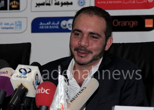 الأمير علي يؤكد أن منتخبنا لا يخشى أحداً ..  ويعلق على استضافة الملك لعامل وطن