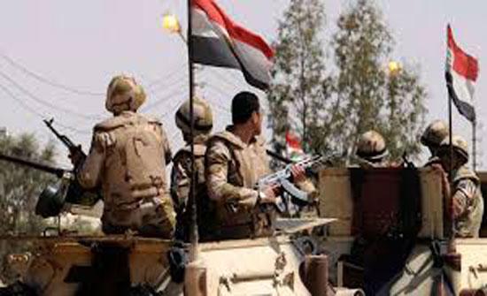 الجيش المصري: القضاء على 19 من العناصر التكفيرية في سناء